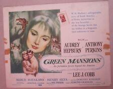 GREEN MANSIONS - Aushangfoto Lobbycard - AUDREY HEPBURN, Anthony Perkins