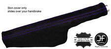 PURPLE STITCH SUEDE HANDBRAKE GAITER FITS AUDI TT 1998-2006
