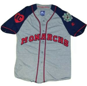 Vintage Baseball Starter Kansas City Monarchs United Negro League Jersey Medium