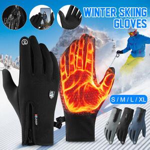 Winter Warm Driving Gloves Anti-slip Touch Screen Windproof Windproof Mitt + ;-