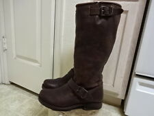 """FRYE MOTORCYCLE ENGINEER 15"""" TALL BOOTS GREAT COND NOT MUCH USED WON 7 B"""