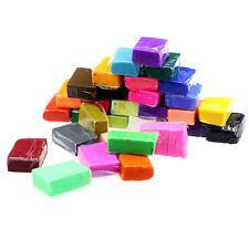 32pcs DIY Malleable Fimo Polymer Modelling Soft Clay Blocks Plasticine
