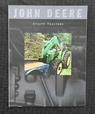 GENUINE 1995 1996 JOHN DEERE 5200 5300 5400 UTILITY TRACTOR SALES BROCHURE MINTY
