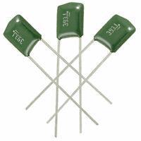 100x 39000pF 0.039uF 100V Metalized Poly Film Capacitors