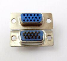 Connecteur à souder HD15 VGA femelle / High quality Female VGA connector 15 pins