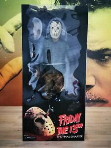 "NECA Jason Voorhees Friday The 13th The Final Chapter 1/4 Scale 18"". FREE UK P&P"