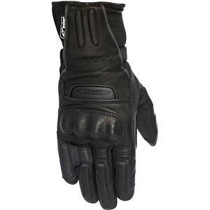 Alpinestars Stella M-56 Drystar Womens All-Weather Leather Gloves Black