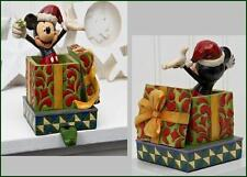 Jim Shore Mickey Mouse Stocking Holder Holiday Cheer Disney Traditions 4023538