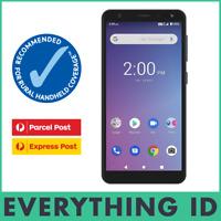 TELSTRA ESSENTIAL PRO 4G 4GX BLUE TICK A5 LARGE SCREEN 16GB PREPAID MOBILE PHONE