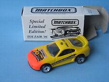 Matchbox Toy Fair Toyota Supra European 1996 Boxed Toy Model car 70mm Long