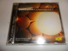 CD  Herbert Von Karajan - Sinfonien 5,7