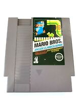 Mario Bros. Arcade Classics ORIGINAL NINTENDO NES GAMSE Tested Working AUTHENTIC