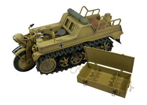 Ultimate Soldier Kettenkrad Tank - 1:6 Scale - Also includes bonus Rifle Case