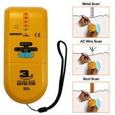 Wall Scanner Stud Finder 3-in-1 Detector with Sound Warning and LED indication