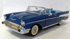 Danbury Mint 1/24 Scale Diecast - 41 Chevrolet Bel Air 1957 Blue