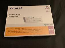 Netgear Wireless-N 300 USB Adapter WN111-1VCNAS New