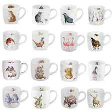 Wrendale Mugs by Royal Worcester Choice of Designs Fine Bone China NEW