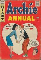 Archie Annual #13 ORIGINAL Vintage 1962 Archie Comics Veronica Jughead