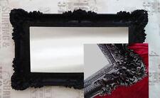 Miroirs noir noirs modernes pour la décoration intérieure