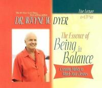 NEW 6 CD Essence of Being in Balance Habits to Match Your Desires Wayne Dyer