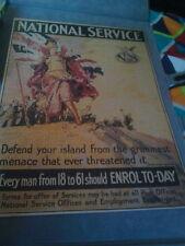 Guerre Mondiale Un service national Affiche, 1000 Piece Jigsaw Puzzle