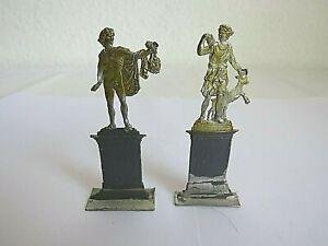 Zinnfiguren Zwei Statuen