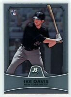 2010 Bowman Platinum #66 IKE DAVIS RC Rookie (Mets) NM