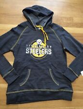 Pittsburgh Steelers Womens Hoodie Medium Nwt NFL Team M Apparel Nwt New 279daf786