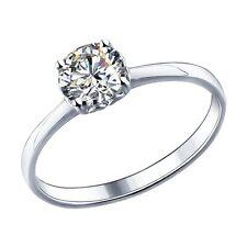MIRKADA Damen 925 Sterling Silber Ring mit SWAROVSKI Zirkonia Gr. 58 * NEU *