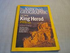 NATIONAL GEOGRAPHIC December 2008 KING HEROD HOLY LAND ARCHITECT India MARS