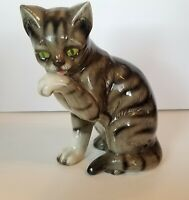 Extra Large Vintage GOEBEL W.Germany Ceramic Cat Figure # 31011 - 30