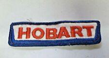 Vtg. Hobart Food Service Equipment Uniform Embroidered Patch Used 5987