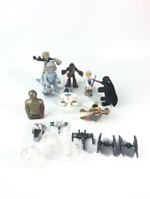 Hasboro PlaySkool Star Wars (13) Piece Lot- Tauntaun Darth R2D2 Han Solo + More