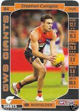 2017 Teamcoach Base Card (104) Stephen CONIGLIO Greater Western Sydney