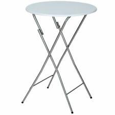 tectake Table de Jardin Pliable 110x60 cm - Blanche (400866)