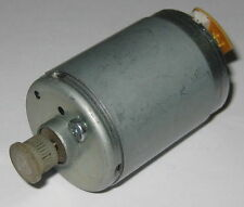 Electric Motor with Plastic Gear - 12 V DC - 2200 RPM - Low Current Draw - 3 Pin