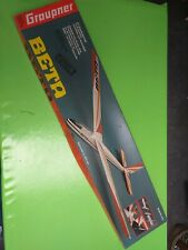 Maquette Avion Graupner Beta Vintage wing construction kit Fly Ace RC