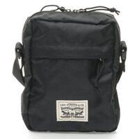 LEVI'S NEW Men's Messenger Bag Black BNWT