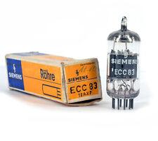 ECC83/12AX7 SIEMENS NOS GERMANY Tube Röhre Valvola Lampe TSF Valvula 진공관 真空管