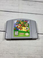 Super Mario 64 (Nintendo 64 N64, 1996) Authentic Cartridge Only Cleaned & Tested