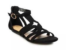 Lauren Conrad Popsicle Women Gladiator Sandals Size US 9 Black