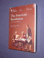Teaching Co Great Courses DVDs         THE AMERICAN REVOLUTION      new & sealed