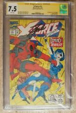 Marvel Comics/x-Force # 1app Domino signed by Stan Lee (CGC 7.5 certifica)