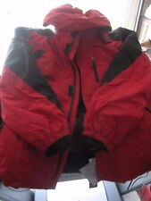 HAWKE & CO MEN JACKET 3 IN 1 RED BLACK CHILI PEPPER SIZE 2XL NEW