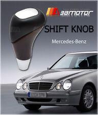 Shift Knob Mahogany Brushed Aluminum for Mercedes Benz W210 W220 W163 W202 W140