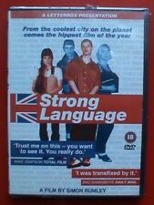 strong language 1999 simon rumley dvd nuovo sigillato raro fuori catalogo