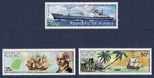 NAURU   3 bateaux de 1974   **