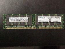 1GB CRUCIAL CT12864Z335.K16TKY PC2700 333 DDR  Non-ECC DIMM