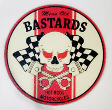 MEAN OLD BASTARDS RAT ROD HOT ROD RACING DECAL STICKER  CHOPPER  BOBBER