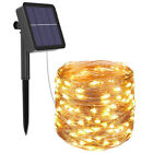 400led Solar String Lights Waterproof Copper Wire Fairy Christmas Garden Outdoor